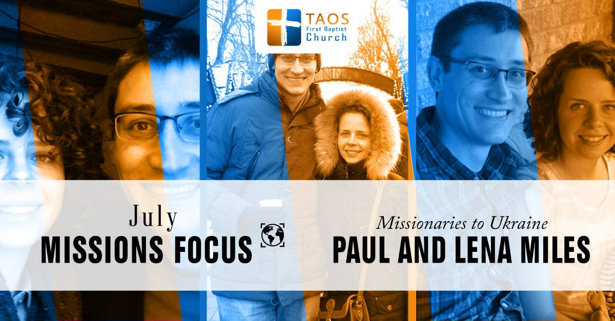 July 2017 Missions of the Month | Paul & Lena Miles