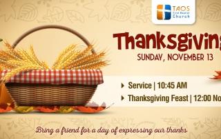 Thanksgiving in Taos