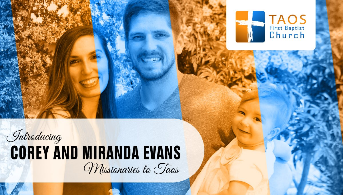 Introducing Corey and Miranda Evans