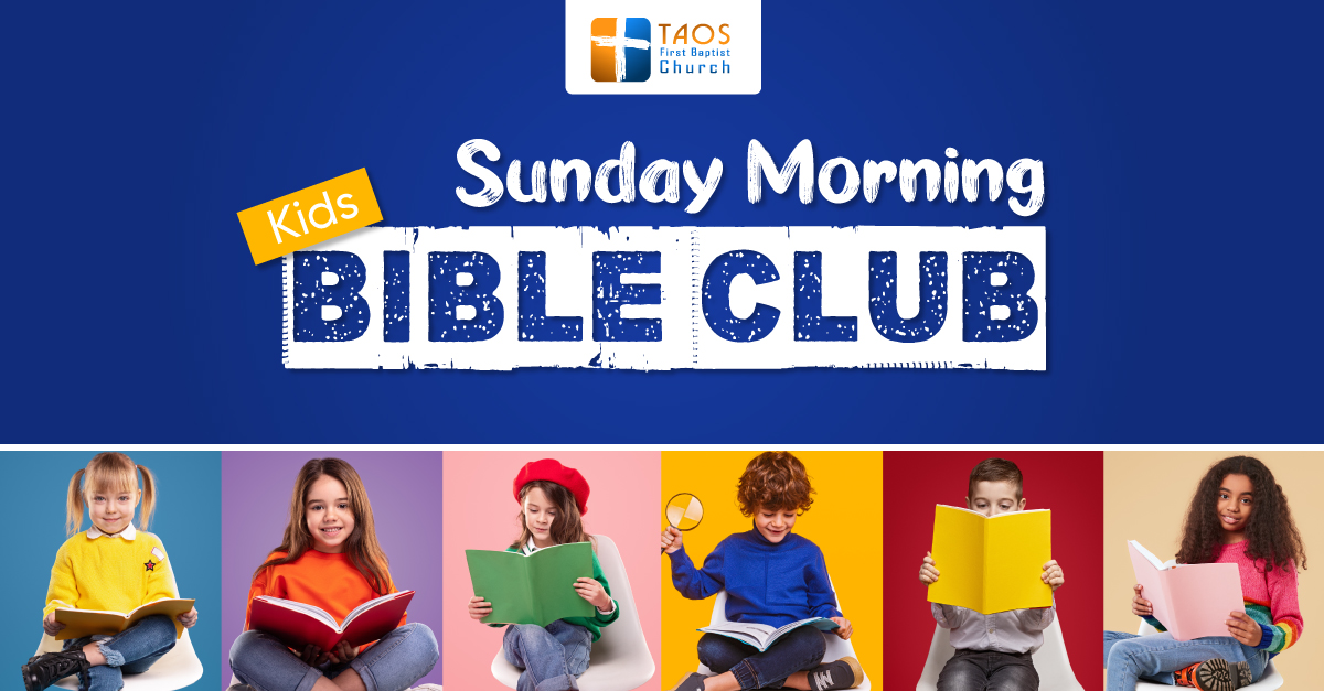 Sunday Morning Kids Bible Club